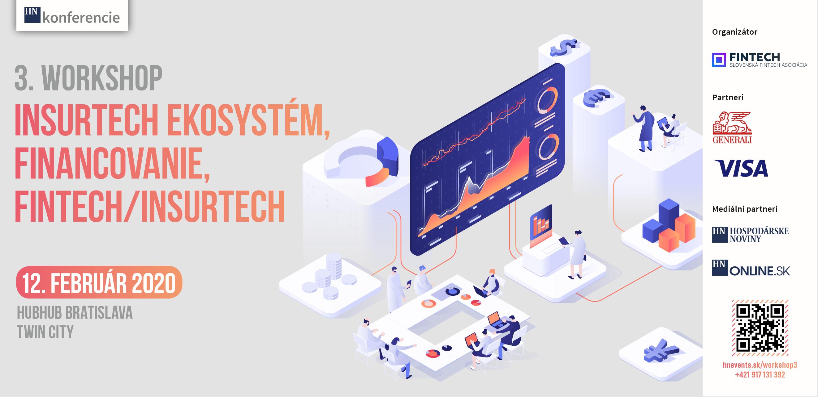 pozvanka na workshop: fintech ekosystem financovanie fintech insurtech 12022020