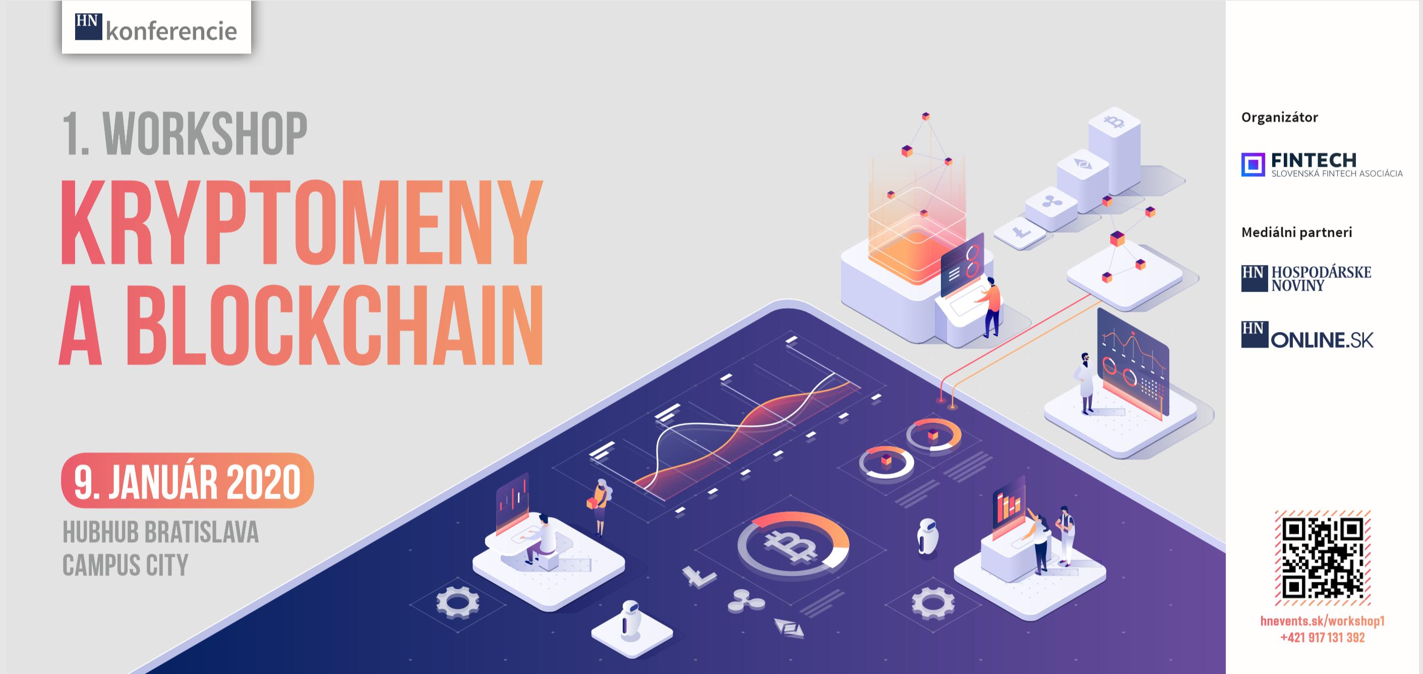 pozvanka na workshop kryptomeny a blockchain